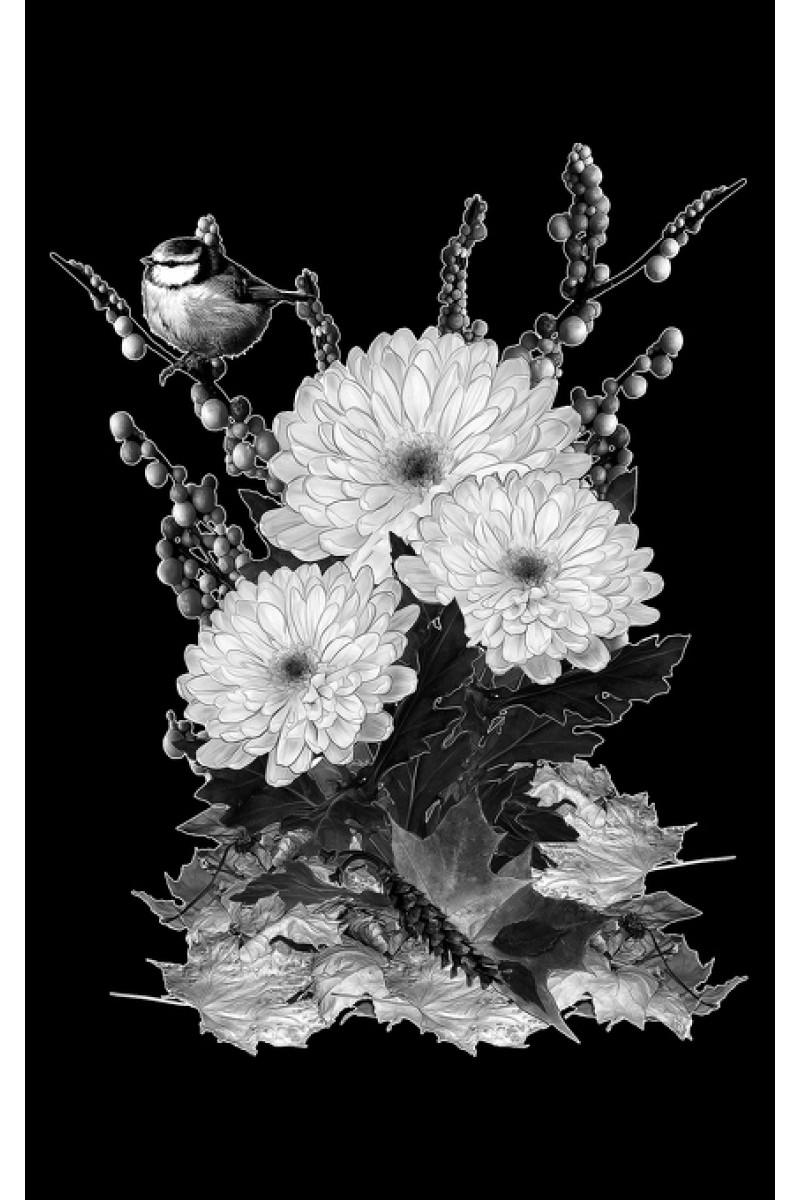 Цветы на памятник 257