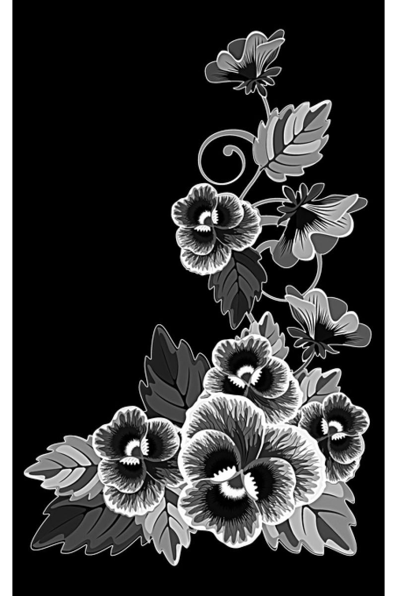 Цветы на памятник 451
