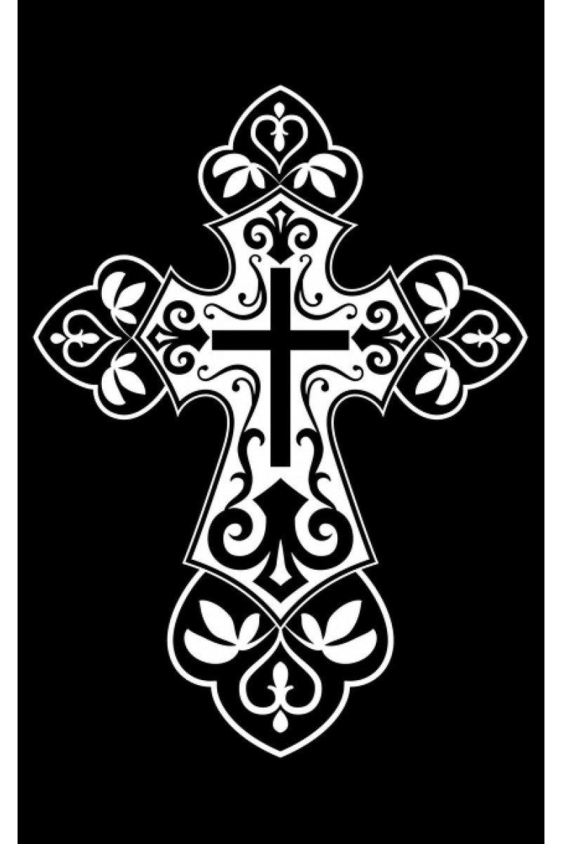 Крест на памятник 103