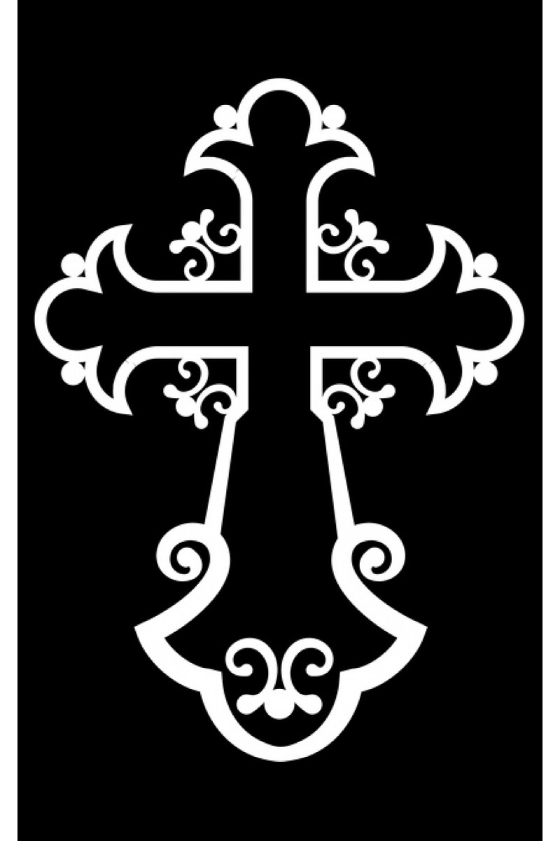 Крест на памятник 105