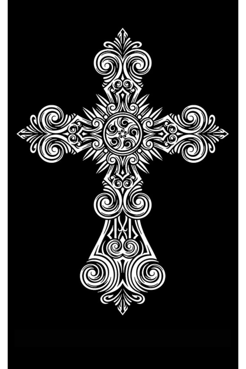 Крест на памятник 119