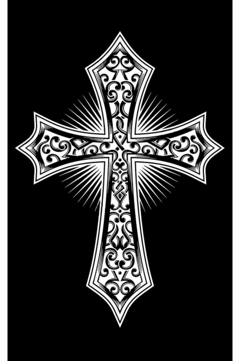 Крест на памятник 124