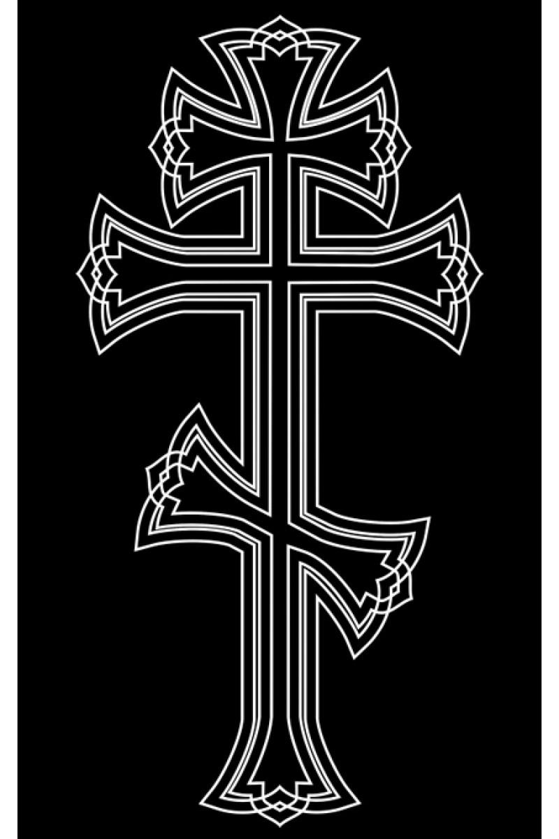 Крест на памятник 166