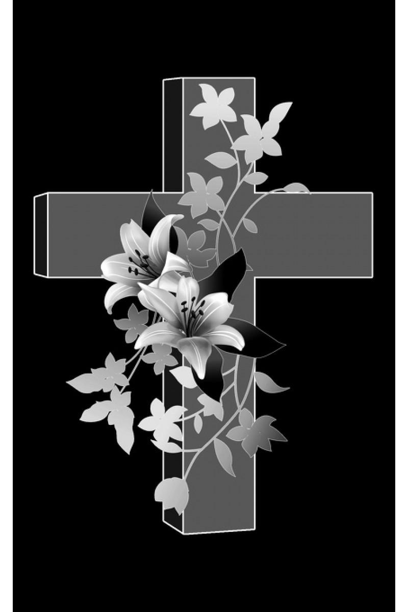 Крест на памятник 209