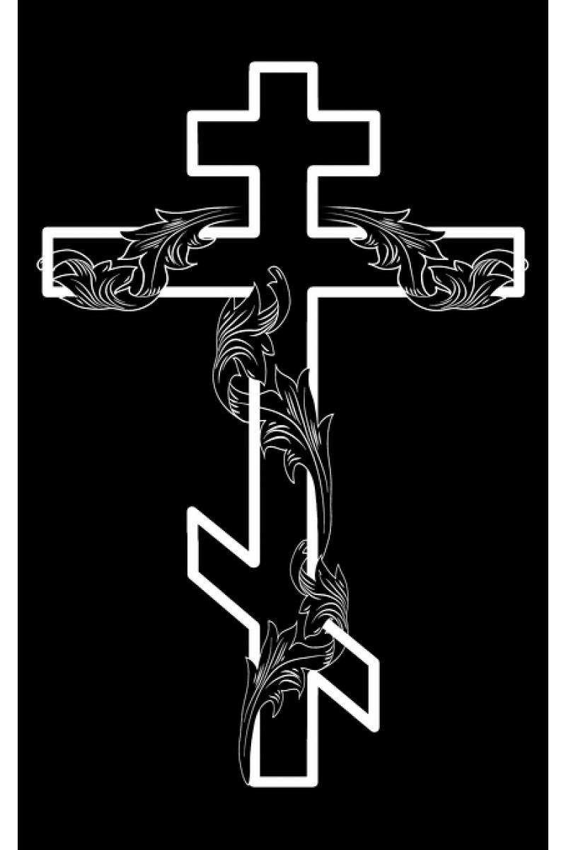 Крест на памятник 216
