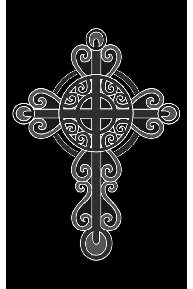 Крест на памятник 219