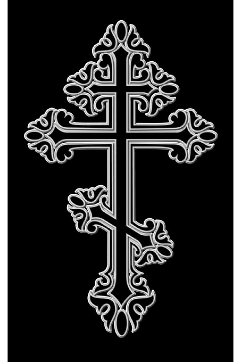Крест на памятник 222