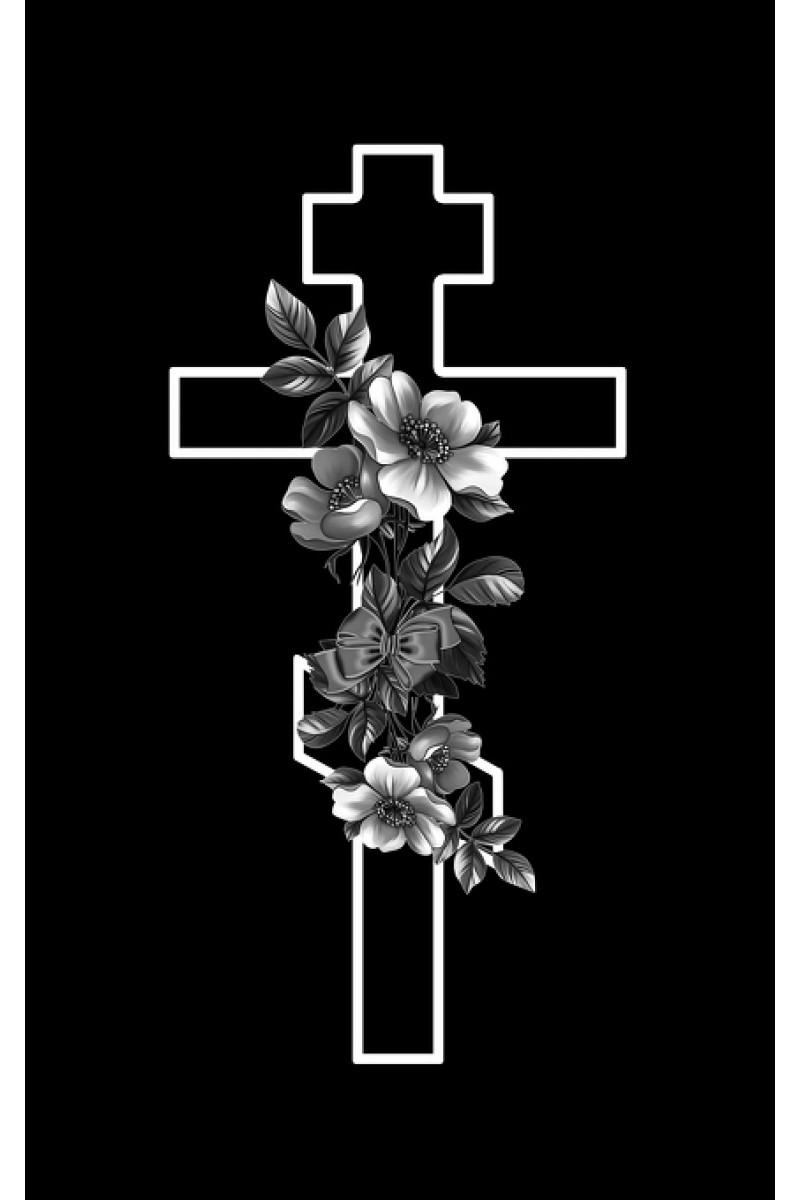 Крест на памятник 284