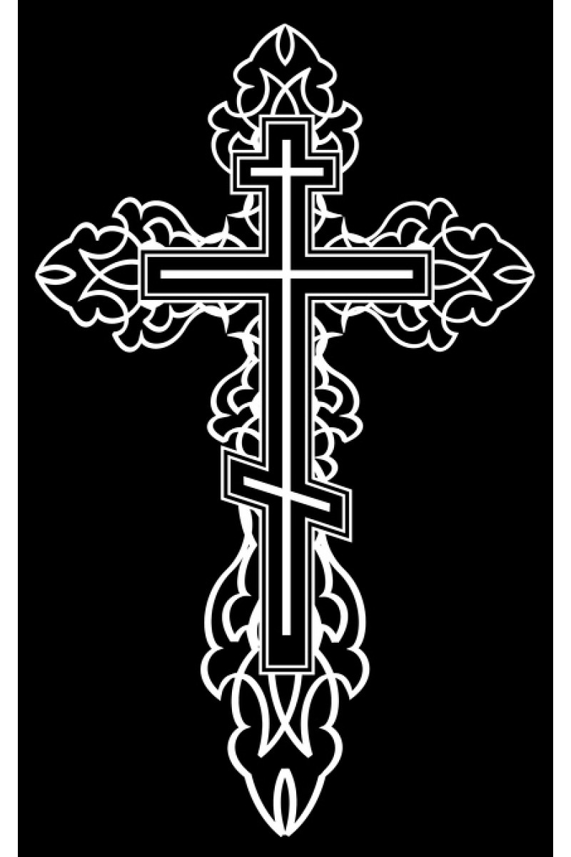 Крест на памятник 305