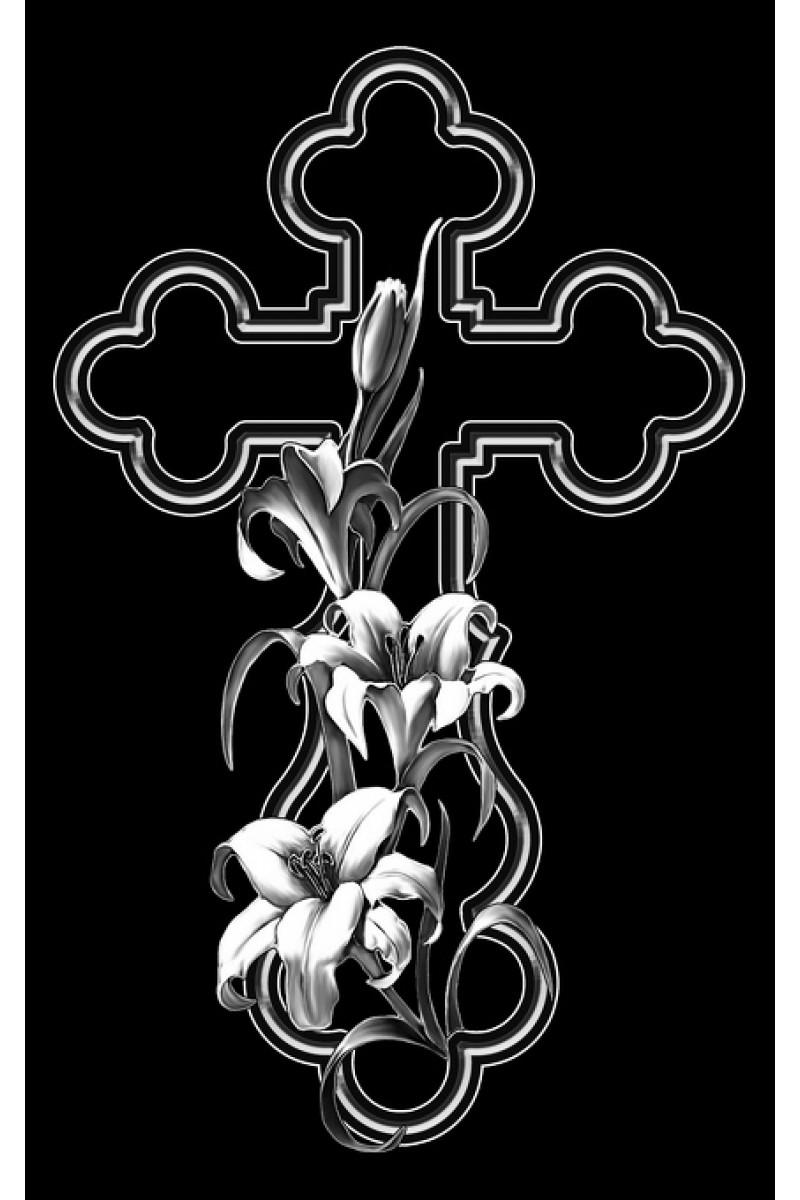 Крест на памятник 318
