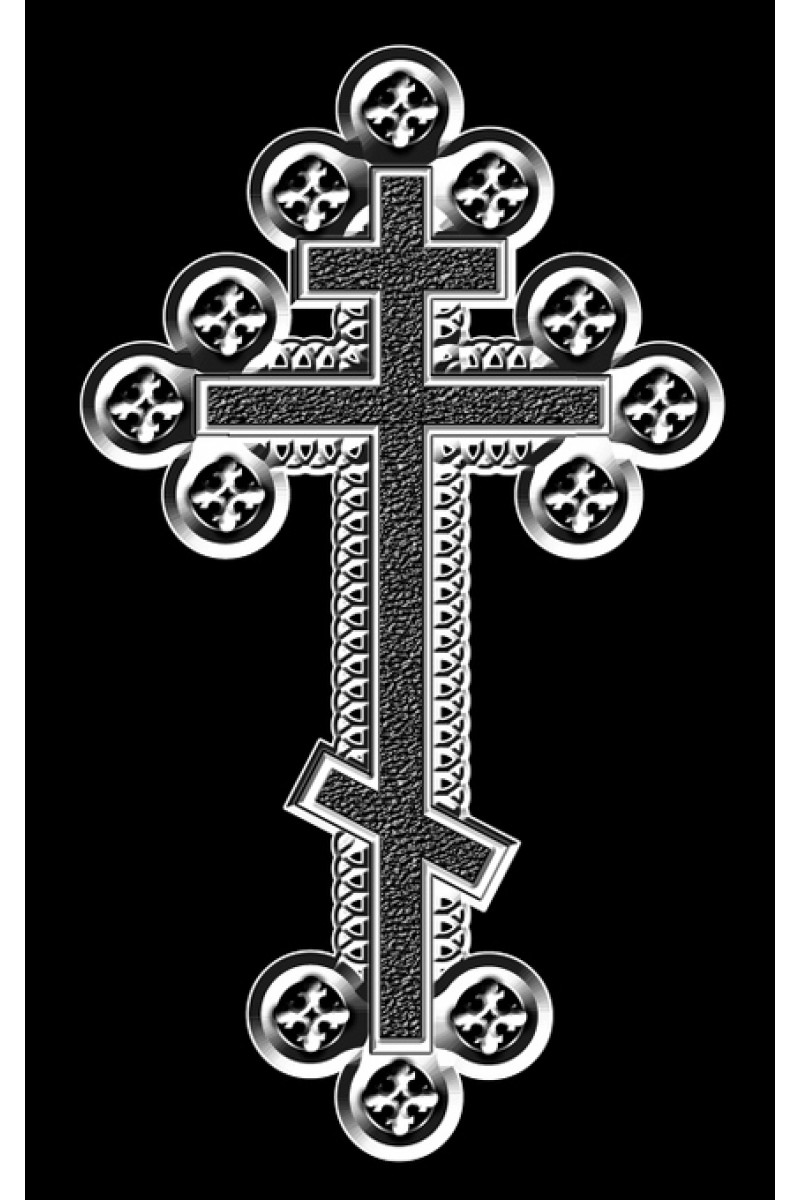 Крест на памятник 333