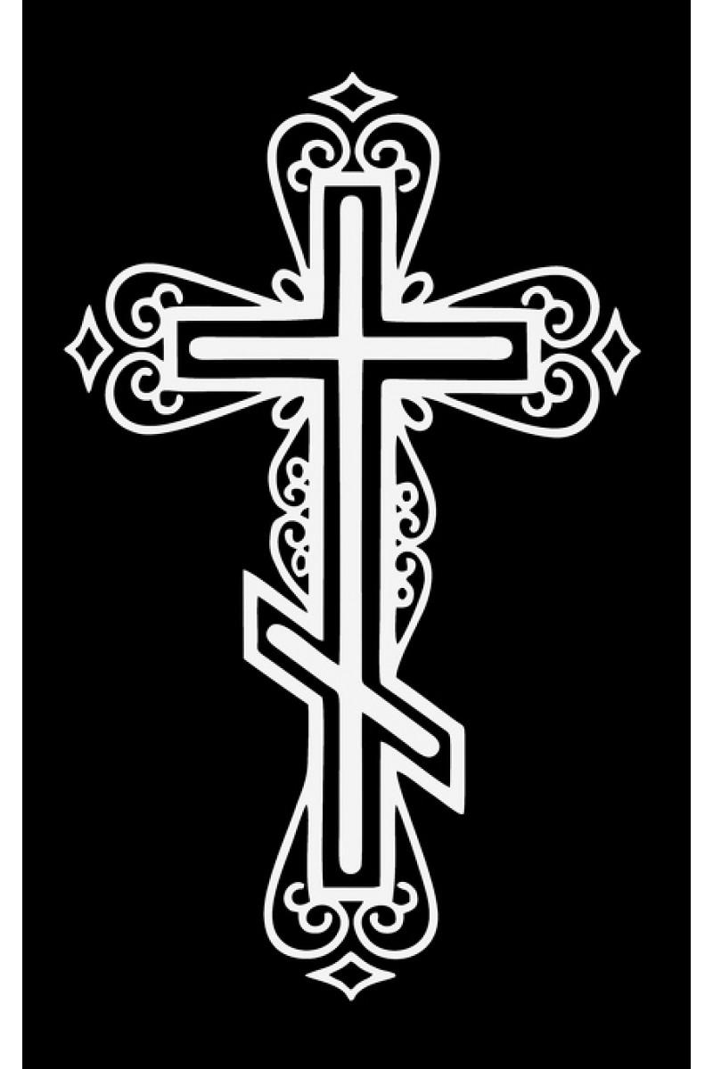 Крест на памятник 372